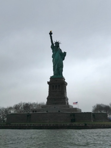 Lady Liberty in all her glory